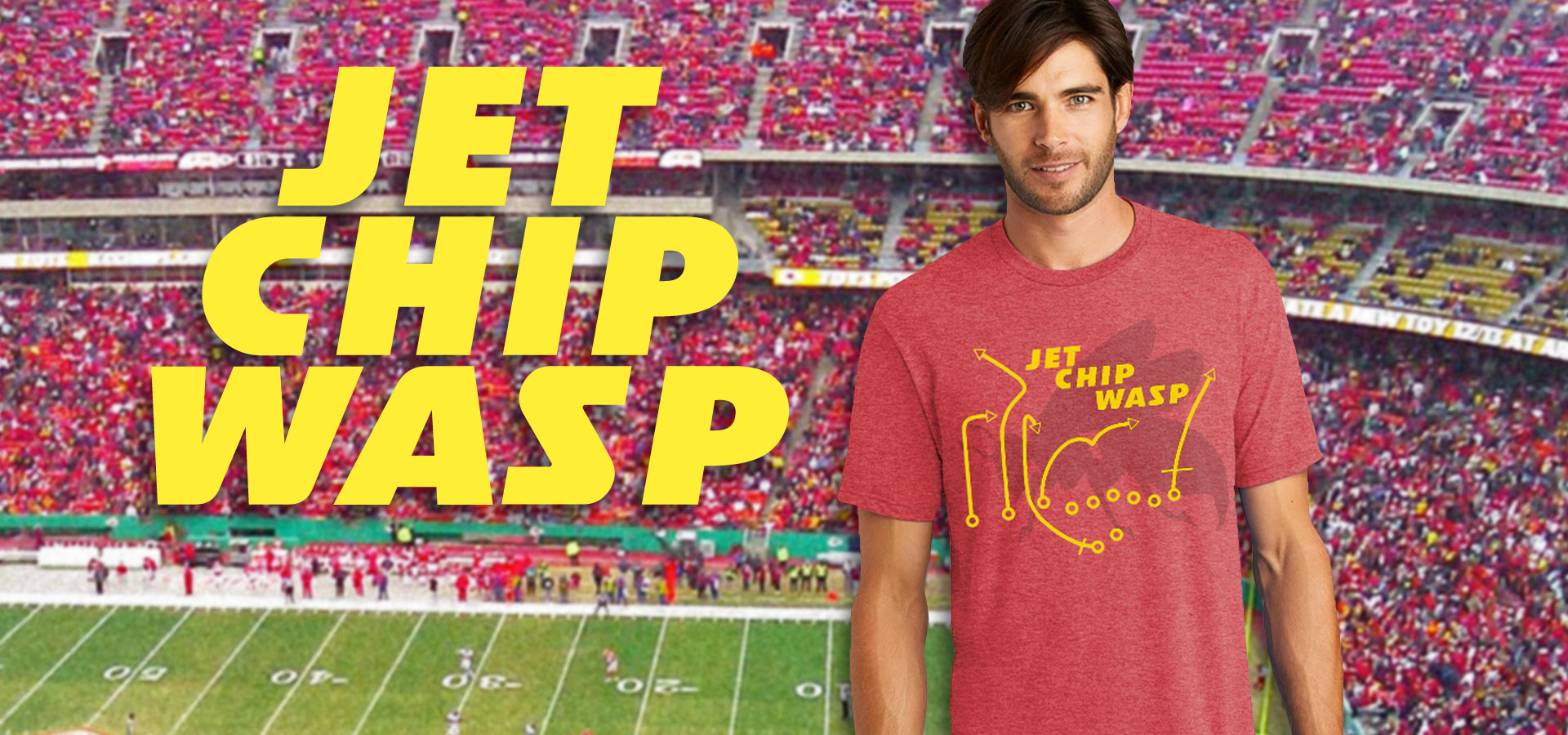 Jet Chip Wasp T-Shirts